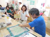 【終了しました】【5月】呉夏枝ワークショップ「編み物をほどく/ほぐす」