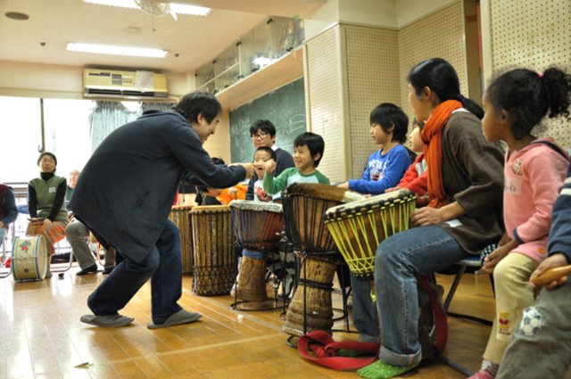 【レポート】2/4 大友良英ワークショップ「子どもオーケストラ」