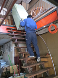 【レポート】工房&展示スペース ゴミ・冷蔵庫の搬出