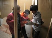 【レポート】工房&展示スペースづくり 13日目