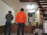 【レポート】工房&展示スペースづくり 16日目