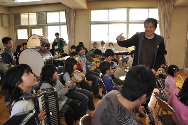 【大友良英】ワークショップ「子どもオーケストラ」