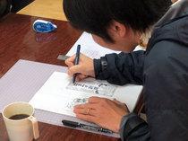 【レポート】「西成なるへそ新聞」第0号、制作中です!