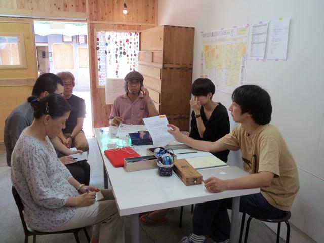 【西成なるへそ新聞】13号・15号編集会議