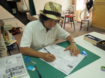【西成なるへそ新聞】17号編集会議・大阪メディアフェス2013