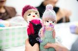 【レポート】呉夏枝「編むワークショップ〜ニットキャップ人形編〜」をスタートしました