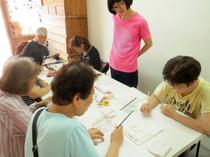 【レポート】薮内美佐子ワークショップ「鳥に色を塗っておいてね」その1