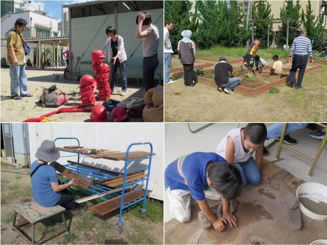 大阪市立大学主催「アートの活用形?」連携事業<br>「地域に根ざした創造活動拠点の実験 ー作業場をつくってみるー」