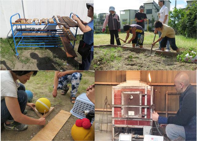大阪市立大学主催「アートの活用形?」連携事業<br>「作業場をつくってみる-実験その4-地域に根ざした創造活動拠点の実験 」<br>