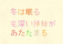 【薮内美佐子】ワークショップ「毛深い姉妹」